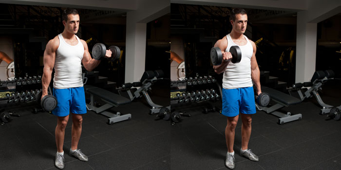 Alternating-Standing-Dumbbell-Biceps-Curl