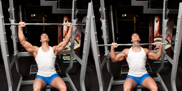 Barbell-Shoulder-Press