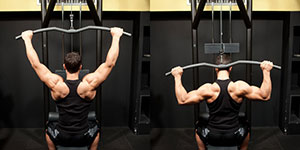 Behind The Neck Cable Pulldown