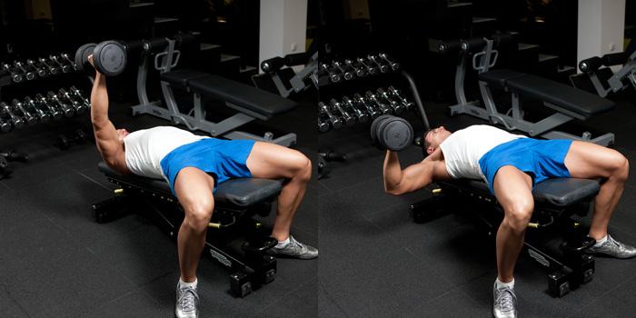 Decline-Hammer-Grip-One-Arm-DB-Bench-Press