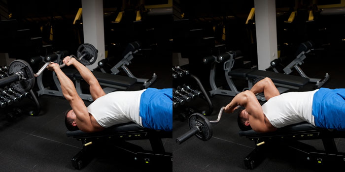 Decline-Triceps-Extension