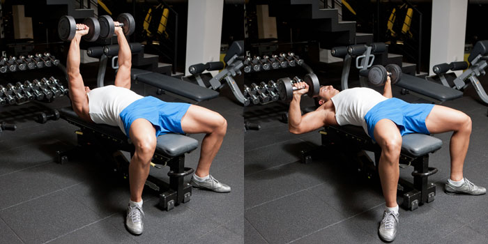 Dumbbell-Bench-Press