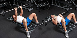 Floor Bench Press Close-Grip