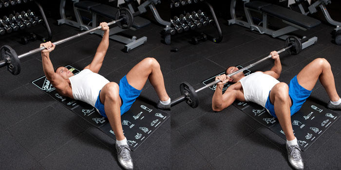 Floor Bench Press | Weight Training