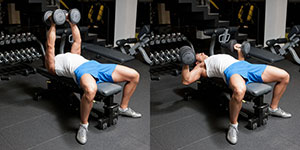 Hammer Grip Dumbbell Bench Press
