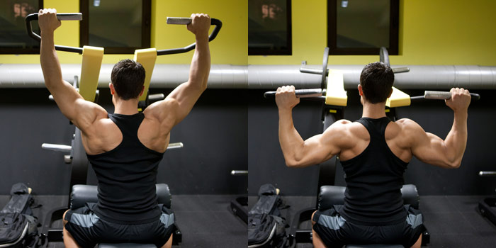Lat-Pulldown-Machine