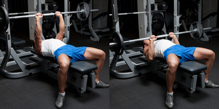 Medium-Grip-Barbell-Bench-Press