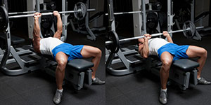 Medium-Grip Barbell Bench Press