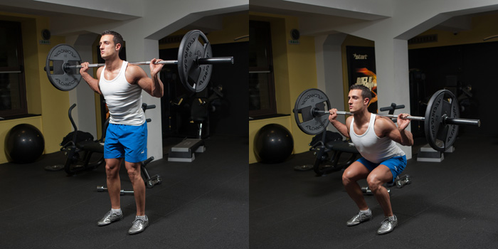 Narrow-Stance-Barbell-Squat