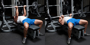 Reverse Grip Close-Grip Bench Press