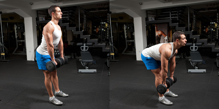 Romanian-Dumbbell-Deadlift