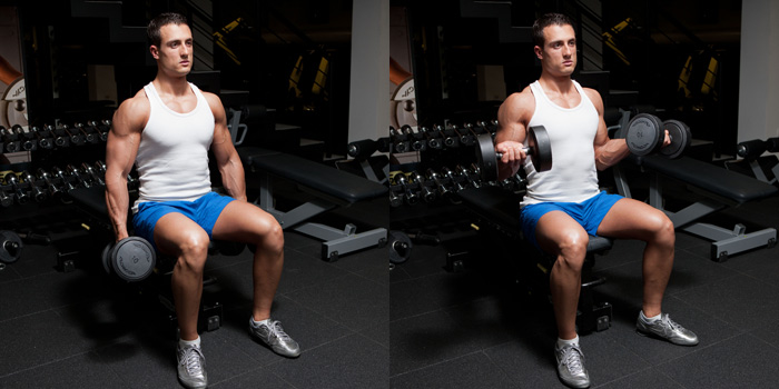 Seated-Dumbbell-Biceps-Curl-With-Twist