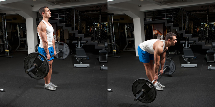 Stiff-Legged-Barbell-Deadlift