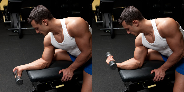 How to lose arm fat? 4 best exercises to get toned arms fast